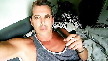 My Straight buddy Hunk Step Dad CORY BERNSTEIN AKA CORY THE MODEL Busted in Leaked Male CELEBRITY COCK Sextape Masturbating ! Jerking SHAVED BIG COCK, Smoking , fingering Ass, HUGE CUM SHOT ! FREE GAY PORN