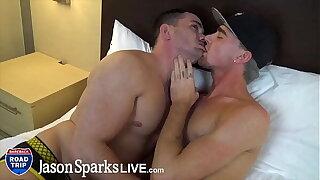 JasonSparksLive - muscle jock raw fucks country urchin with huge cumshots