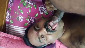 Bottom desi uncle sucking thick cock