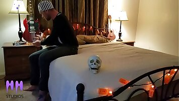 Step Son Has To Jerk Off In Front Of Mom To Break The Voodoo  Curse Part 1