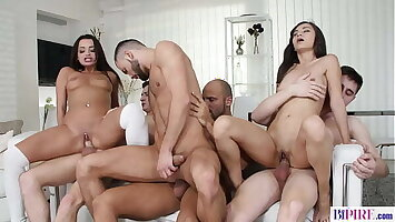 Bisex Orgy With Shrima Malati and Daphne Klyde