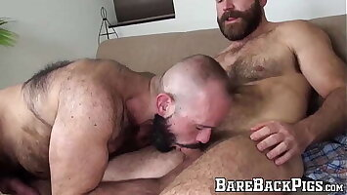 Hardcore raw banging hunks Nixon Steele and Marco Bolt