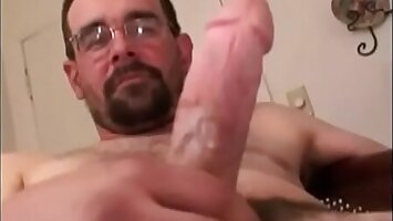 Ever want to watch your Dad jack off- RoughHairy.com